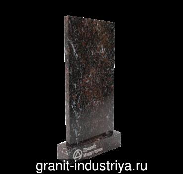 Памятник из гранита Гранатовый Амфиболит, арт. 6150