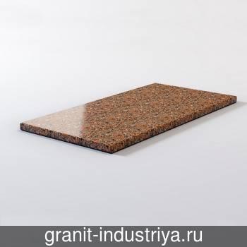 Гранитная плитка Капустинский 600*300*30 полировка